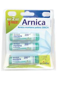 Boiron Arnica Montana Pellets, 200ch, 3 Tubes