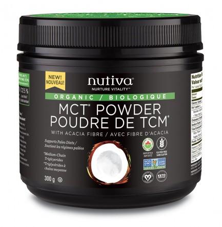 Nutiva Organic MCT Powder, 300g unflavoured