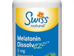 Melatonin Dissolvez 5mg, 120 sublingual tablets Peppermint (Swiss)