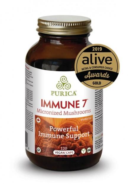 Immune 7, 120 vegan caps (Purica)