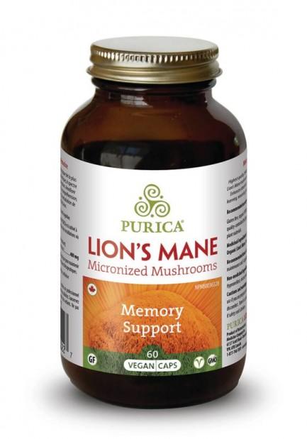 Lion's Mane, 60 vegan caps (Purica)