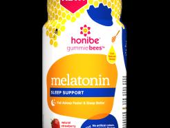 Melatonin Sleep support, 70 gummies (honibe)