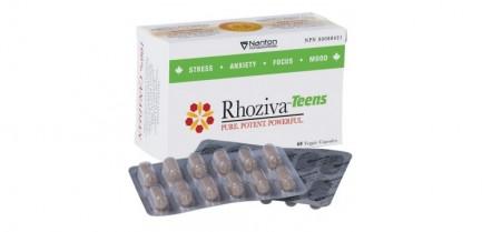 Rhoziva Teens, 60 vcaps (Nanton Nutraceuticals)