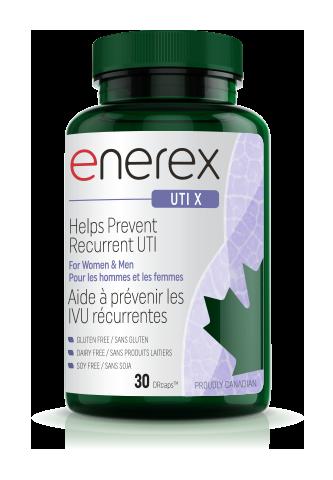 UTI X, 30 delayed release capsules (Enerex)