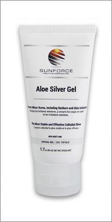 Aloe Silver Gel, 50ml (Sunforce)