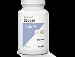 Chelazome Copper 90 Caplets (Trophic)