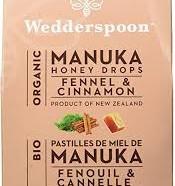 Manuka Honey Drops, Fennel & Cinnamon (Wedderspoon)