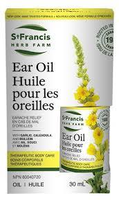 Ear Oil, 30ml (St.Francis)