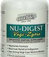 *currently unavailable* Nu-Digest Vege-Zyme, 90 vcaps (Nu-Life)