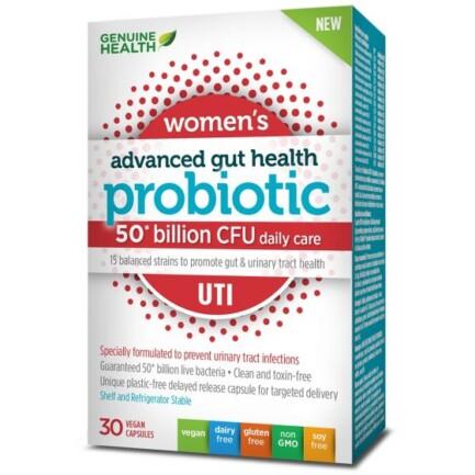 Genuine Health Women's Advanced Gut Health Probiotic (UTI)